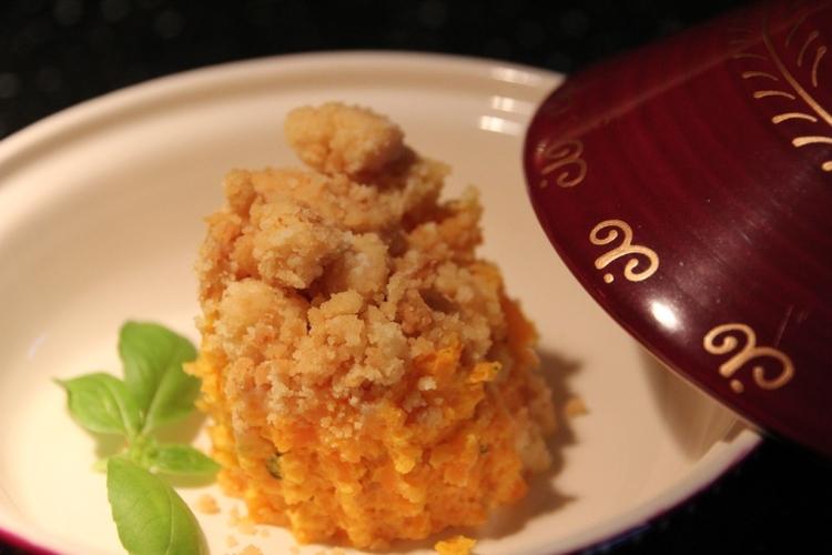crumble-de-carottes-au-chevre