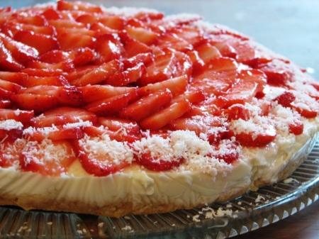 gateau-aux-fraises-et-fromage-blanc