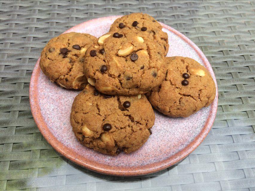 cookies cacahuètes 1